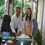 BUKET YILMAZ RENEWED WITH SALIHLI!